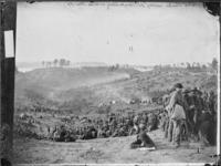 Confederate prisoners awaiting transportation at Bella Plain, VA