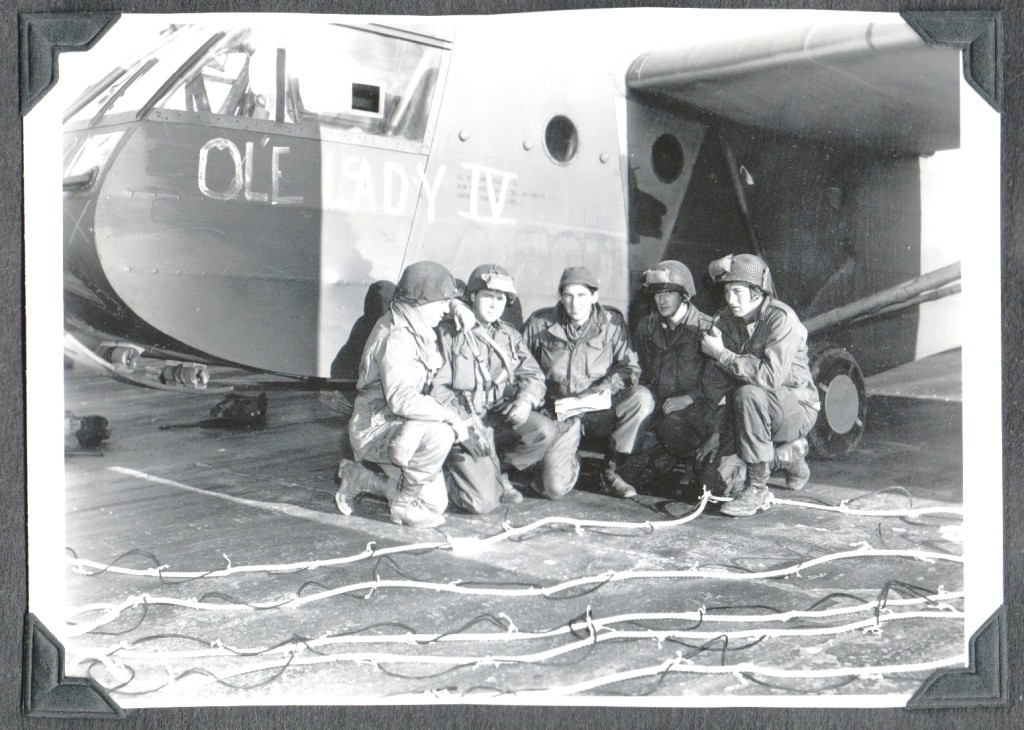 CLH WW2 Europe - Glider Ol'e Lady IV with Airmen-1