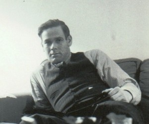 Charles Leroy Heiser, ca. 1930's, probably taken at Myrtle's house closeup