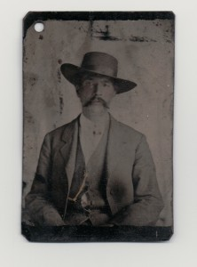 Tintype of a Grant-cropped