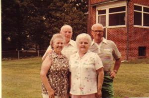 Martin siblings - Gladys, Millie, Jerry and Bobby pre-1994