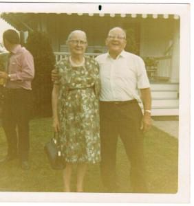 Hubert and Eva Martin 50th Anniv-Hubert and Florrie Martin Duckett