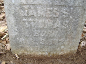 James S Thomas headstone-1