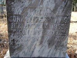 John Vincent Davis headstone