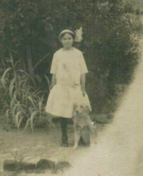 52 Ancestors Week 13 – Vera Luana Crouch, Pretty Young Thing