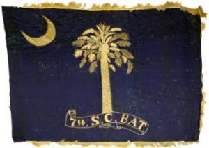 7th SC Battalion Flag - James and Jesse and John Henry all served in this battalion
