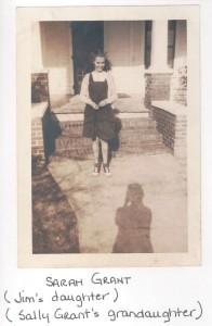 Sarah E Grant, daughter of James T Grant