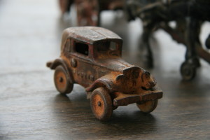 Metal toy car