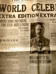 World War 1 newspaper