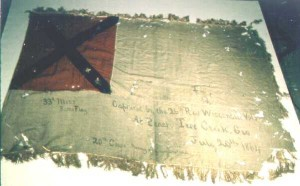 33rd Mississippi Infantry Battle Flag