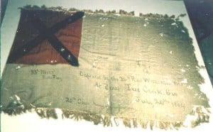 33rd Mississippi Infantry Battle Flag