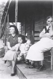 Virgie Martin Peake with dau Lillie Mae and grdau Joyce