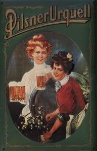 Women drinking poster