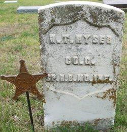 HYSER Henry T gravestone