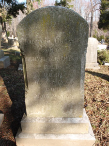 PYLES Richard Grover gravestone from Monacacy Cemetery from FaG page