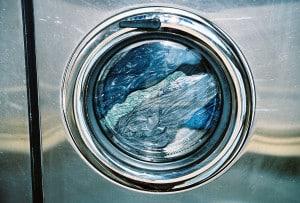 Dryer at laundromat