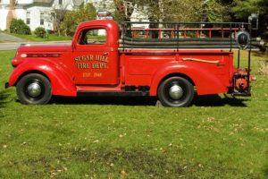 Vintage fire truck from 1948