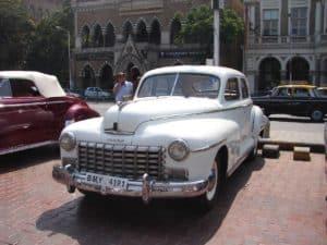 Vintage Dodge car