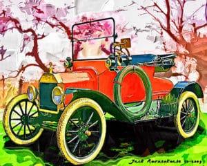 1915 Ford Model T public domain