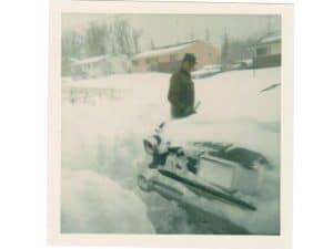 My Wintry Ancestor: my dad, Charlie Heiser